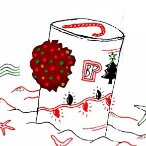Original Christmas Card #3: For All the Fruitcakes at BP