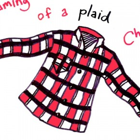 Original Christmas Card #10: I'm Dreaming of a Plaid Christmas
