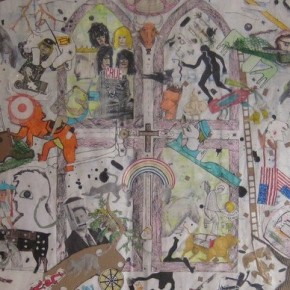 """Introducing Dakno Gurpstan & His Art for My Book, """"The Stained-Glass Kaleidoscope"""""""